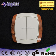 China Yiwu city Futian market best price wooden electrical switch power supply
