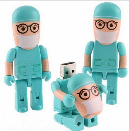 Fully Customizable Doctor USB Flash Drive Medical Promotional USB