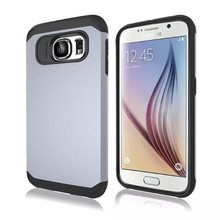 New Product Matt Rugged Tough Hybrid Combined Slim Armor Case For Samsung Galaxy s6