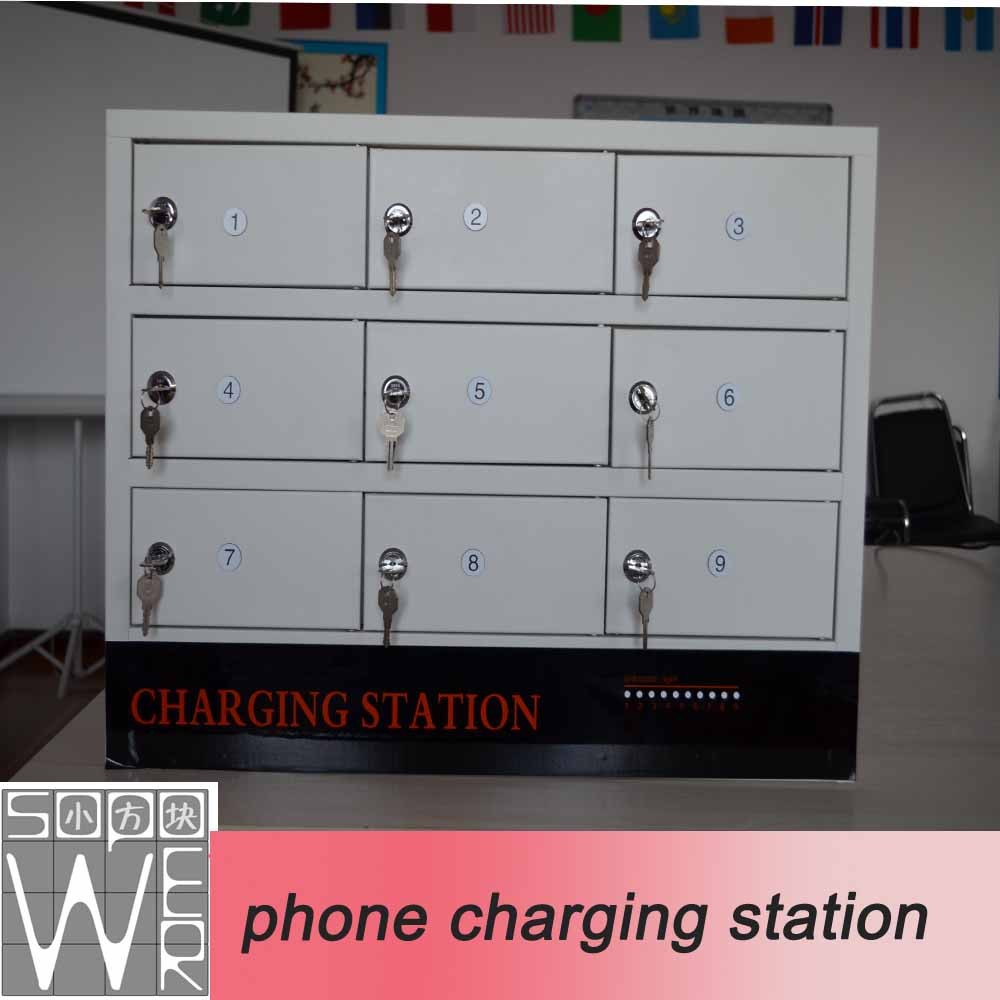 9-door Chinese price phone charging station import mobile phone accessories