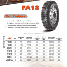 1100R20 Chinese second hand radial truck tire wholesale