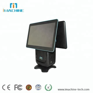 POS Terminal Windows 14 inch Touch Screen 80mm Thermal Printer Scan Camera