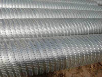 Bridge slotted screen pipes manufacture