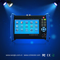 New 7 inch touch screen AHD analog IP tester with digital multimeter