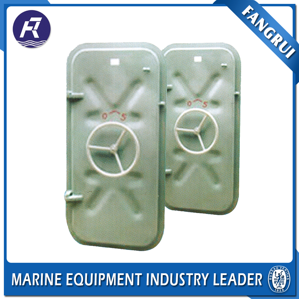 2017 Popular gastight fire rated double security screen bochi stainless steel watertight doors with porthole