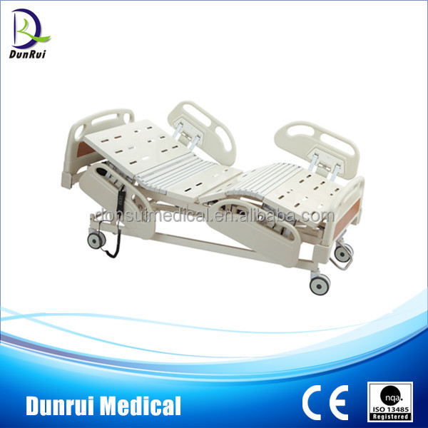 Manufacturer Supply Electric 5-Function Hospital Bed