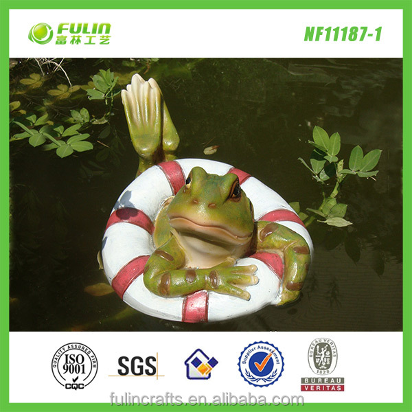 Garden pond ornaments floating pool decorations buy for Pond decoration ideas