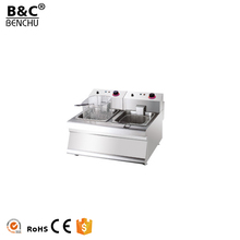 Industrial Counter Top Electric Chicken Chps Fryer / French Fries Fryer for Sale