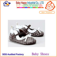 China branded flat clothing little girl baby ballet shoes