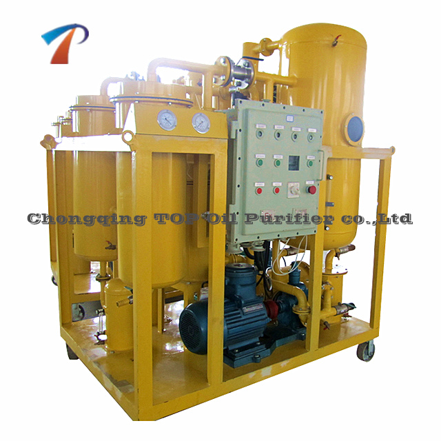 Series TY Vacuum Turbine Oil Purifier Machine/Aging Oil Demulsifier/Water Turbine Oil Reclaiming Units