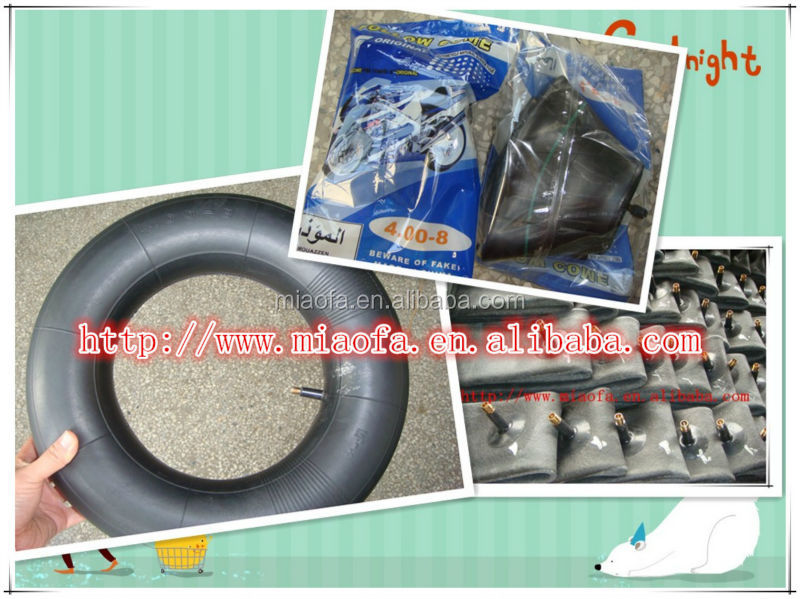 top quality motorcycle tyre and inner tube 400-8 motorcycle spare parts