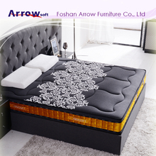 Arrow Soft Luxury Memory Foam Pocket Spring Bed Mattress