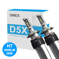 DMEX Canbus LED HeadLight Luxeon ZES