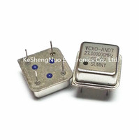 27.000MHZ 27M 27MHZ VCX0 square OSC Crystal Oscillator Active 8-DIP, 4 Leads Half Size Metal Can 13.20mm*13.20mm