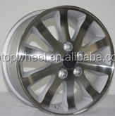 wheels 5x114.3 pcd alloy car rims fit for LEXUS TOYOTA 2016 superior alloy wheels