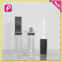 New square lipstick type led lip gloss container
