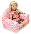 China Supplier Wooden Furniture for18 inch doll toy chair