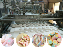 Full automatic white marshmallow machine / marshmallow production line
