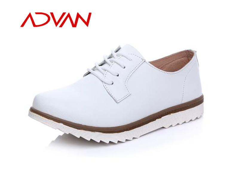2016 Quality Genuine Leather Cement Office Shoes Ladies Wholesale in China