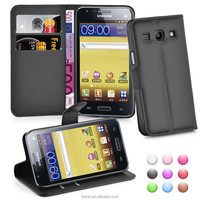 Wallet Flip PU Leather Case Cover For Samsung Galaxy Core Plus