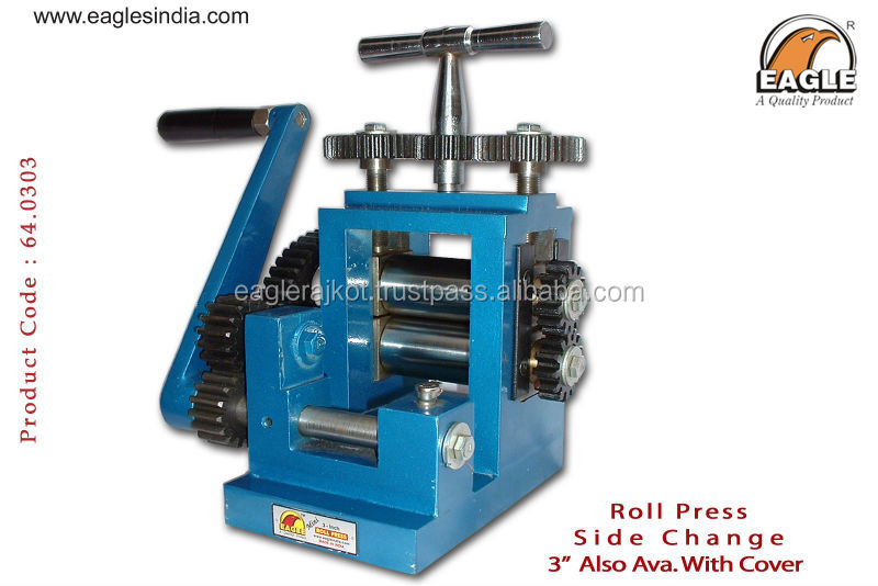 Jewelry for gold, silver wire and sheet rolling mill side change regular for jewellery machine goldsmith machinery