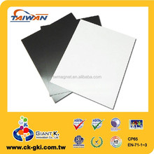 Customized flexible rubber standard self adhesive magnet sheets