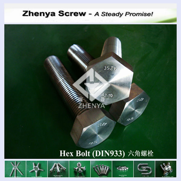 nut and bolt set ss304 ss316