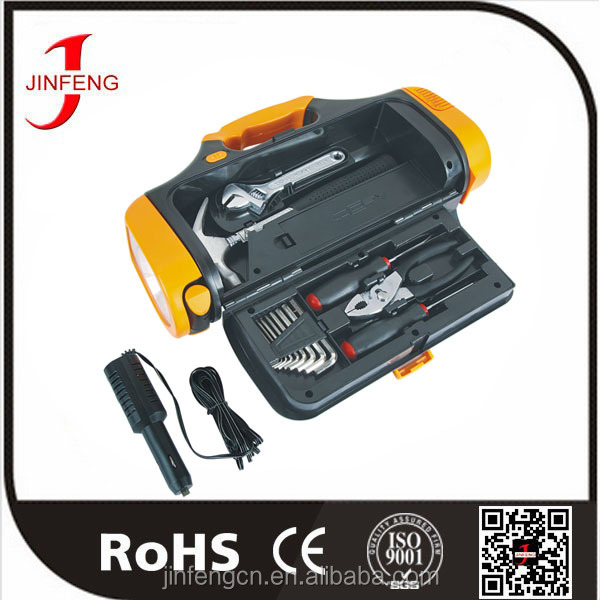 Auto Repair Emergency 12v Flashlight Tool Case