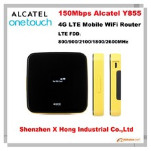 Original Unlock LTE FDD 150Mbps wireless router Alcatel Y855 4g lte mobile wifi
