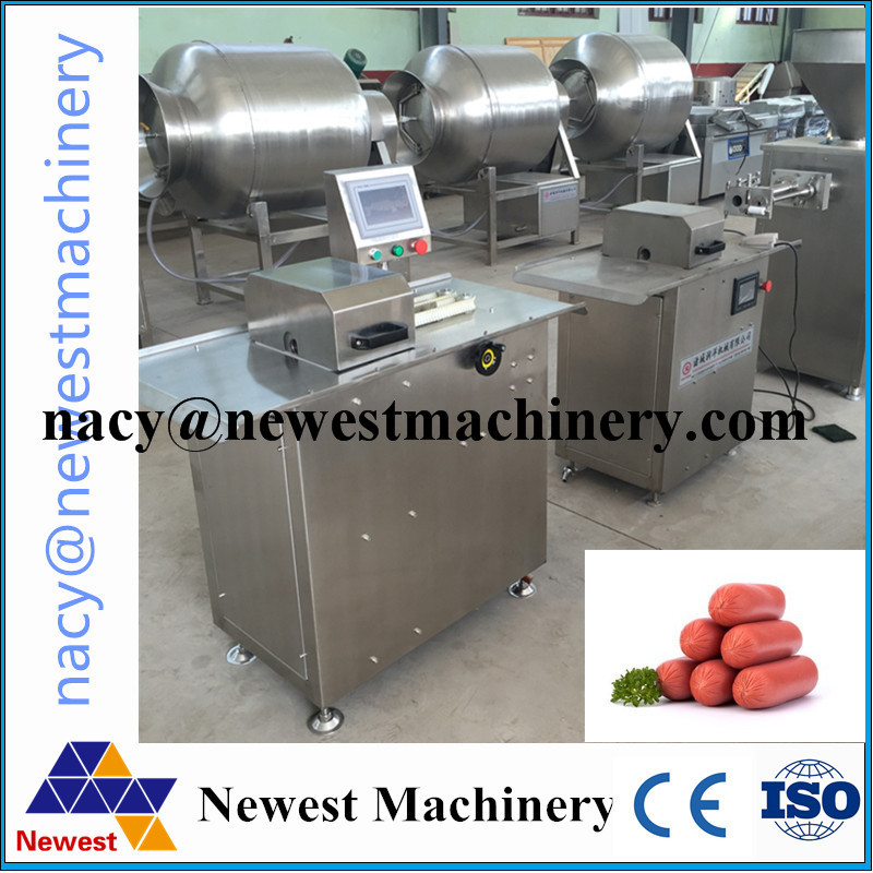 Restaurant used electric automatic sausage twisting machine,sausage knotting machine,sausage tying machine