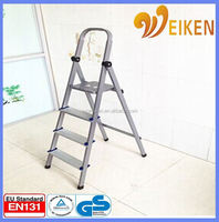 WK-AL204 Aluminum Material and Domestic Ladders Type adjustable step stool