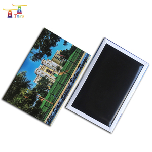 New Product Wholesale Metal 83 * 53 Mm Custom Tourist Greece Magnet Business Card Customized Souvenir Fridge Magnets
