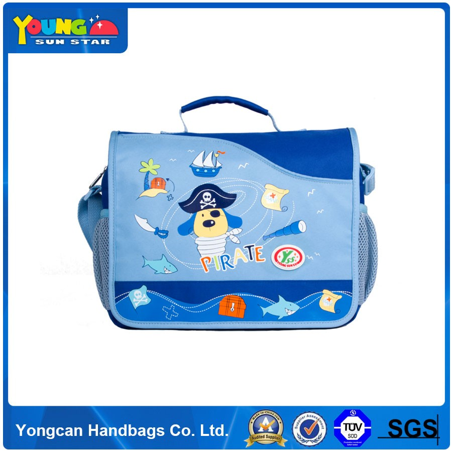 Cute Cartoon Customized satchel bags for kids with logo wholesale
