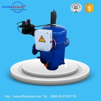 CAF204S automatic hydraulic flushing filter for drinking water filter system