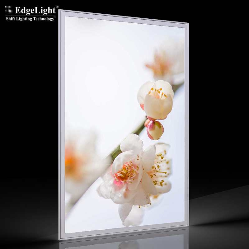 8mm thcinkess ultra thin aluminum profile backlit <strong>led</strong> poster frame