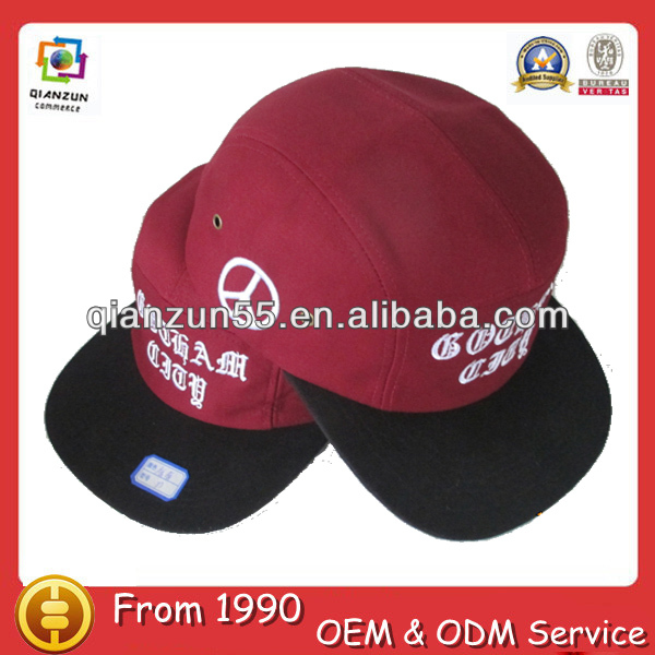 Custom water fan caps hats wholesale high fabric hats
