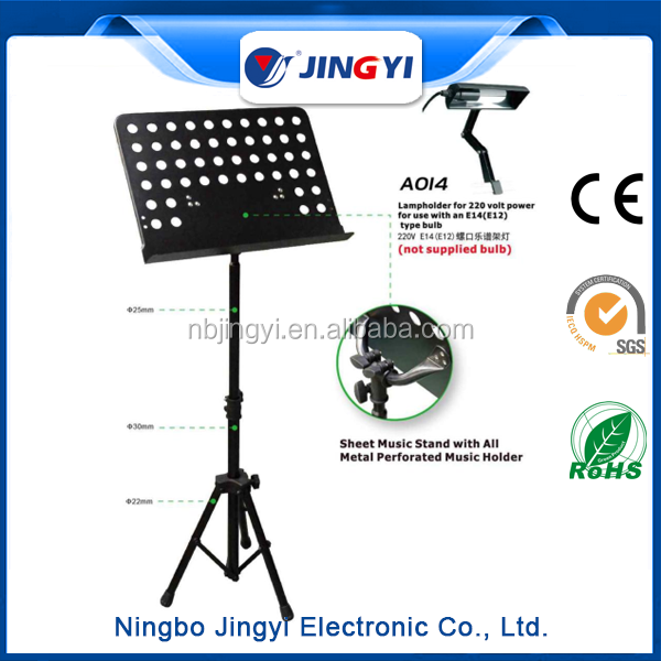 best aluminum music stand and acrylic music stand in shop