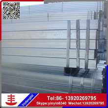 square galvanized tube/steel manufacturer hr square tube and pipe with ISO Certificate
