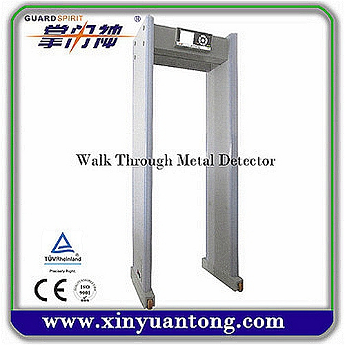 XYT2101B Professional Advanced Portable Multi Zones Walk Through Metal Detector