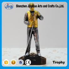 Gold and silver trophy billiard figures Creative resin decoration Wholesale of Arts and crafts