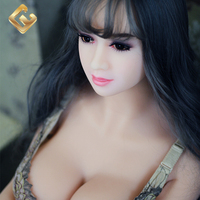 162cm Solid TPE Sex Doll Big Breast Body Male Adults Men Doll with Vaginal Anus