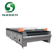 co2 laser garment cloth textile embroidery appliques fabric laser cutting machine