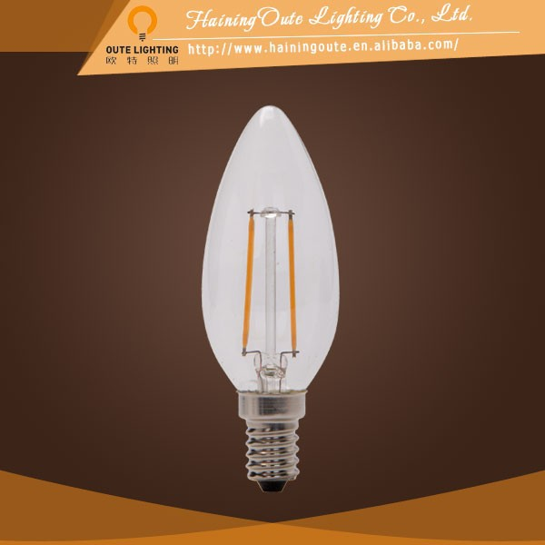 Factory price glass cover pse approved led filament bulb