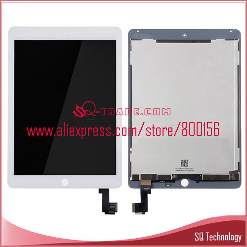 for iPad Air 2 LCD with Touch Screen Assembly ,for iPad 6 Display
