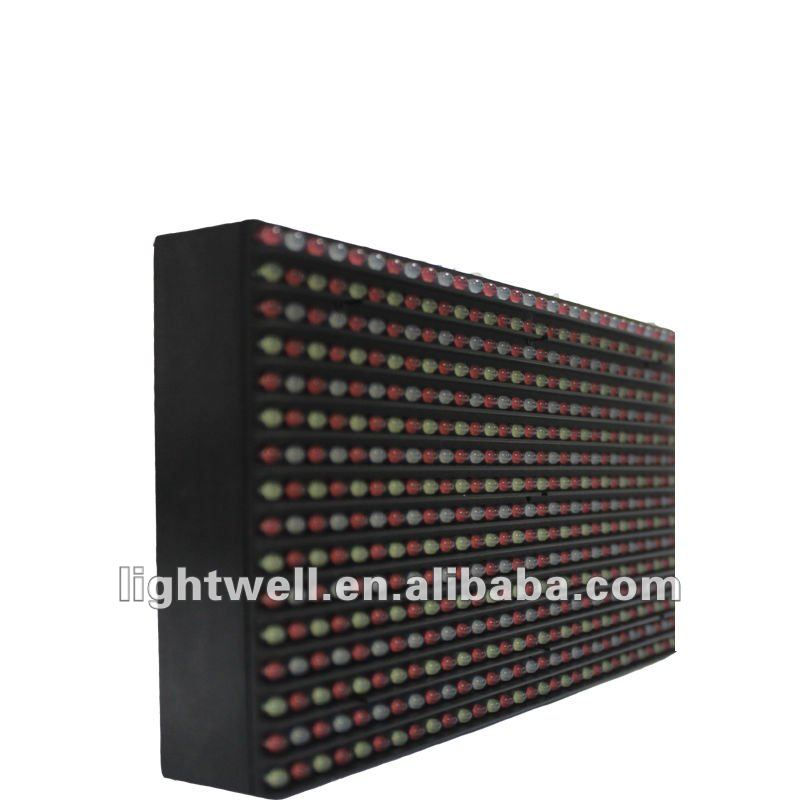 high resolution wholesale P12 full/multi color led display panel module 2011 new technology innovative products
