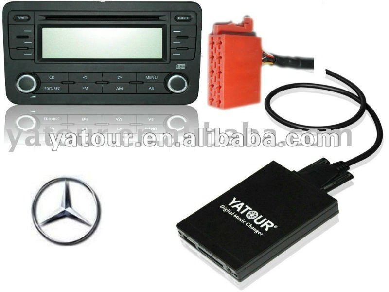 Car digital music changer for Mercedes benz 10pin with handsfree