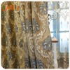 2017 new design 100% polyester jacquard sheer curtain