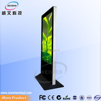 65inch billboard advertising examples digital floor stand kiosk sales