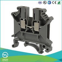 UTL Alibaba China Supplier Din Rail Mounting Copper Conduct Strip Uk2.5 Phoenix Terminal Blocks
