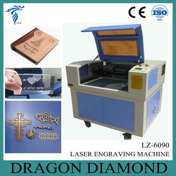 cheap laser engraving machine 600*900mm/small laser engraving machine LZ-6090